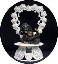 monkey cake topper 5 listings