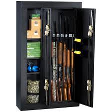 stack on double door gun cabinet homak 8 gun double door steel gun cabinet hayneedle