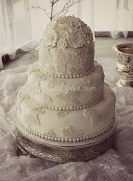 vintage lace wedding cake with sugar roses rose bakes