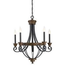 Antique Wood Chandelier Savoy House 1 2050 5 68 Wickham 5 Light Chandelier In Whiskey Wood