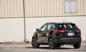 nissan rogue interior cargo 2017 nissan rogue sport in depth model review car and driver