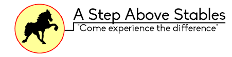 a step above welcome to a step above stables