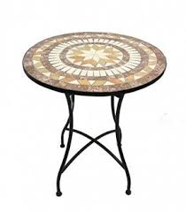 Mosaic Top Patio Table Home Design Small Mosaic Patio Table Tops Tables Home