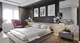 Cool Bedroom Designs Which Use Slats For Accent Wall Decor Ideas - Creative bedroom wall designs