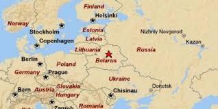 russia map belarus minsk map maps minsk belarus
