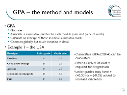 grade point averages u2013 the current context ppt download