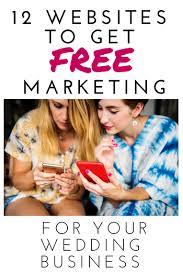 wedding vendor websites 12 websites to get free wedding marketing