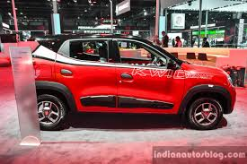 kwid renault 2016 renault kwid custom side at auto expo 2016 indian autos blog