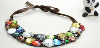 bib necklace designs images Fashion jewelry ideas making a bib rhinestone necklace with jpg