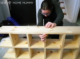 sew at home mummy build a custom vintage mail sorter inspired