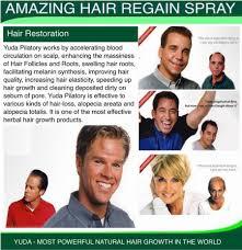 Natural Hair Growth Treatments 3 Bottles Set Hair Growth Hair Treatment Original New Yuda Regain