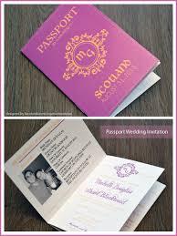 wedding invitations dubai passport wedding invitations creative box