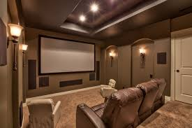 home theater platform absolute customs the jeremiah iii with sports court