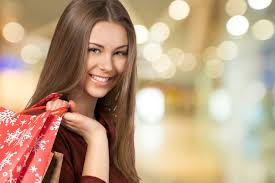 long hair lady silky shoulder length hair shopping beauty 53157 women shopping