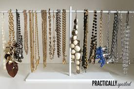 necklace organizer stand images 11 stylish diy ikea hacks to organize your jewelry shelterness png