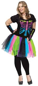 skeleton costume plus size funky bones skeleton costume candy apple costumes