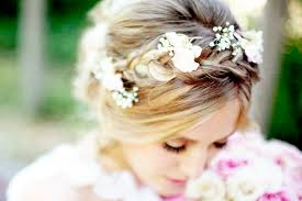 bridal flowers for hair flowers in hair braided bridal style glitter inc