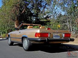 owner original 1987 mercedes benz 560sl with only 75k miles 2