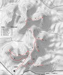 Clifty Falls State Park Map by Sheltowee Trace Trail Map Through Daniel Boone National Forest