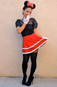 Minnie Mouse Halloween Costume Diy 20 Creative Ways Rock Minnie Mouse Costume Halloween