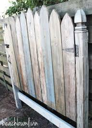Distressed Wood Headboard by Http Beachbumlivin Com Reclaimed Wood Headboard Fence Gate