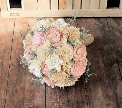 wedding flowers keepsake handmade alternative wedding bouquet ivory blush bridal