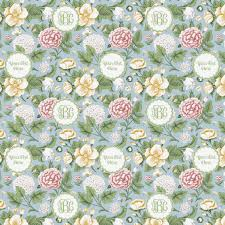 floral wrapping paper vintage floral wrapping paper personalized youcustomizeit