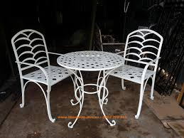 outdoor iron table and chairs wrought iron tables and chairs for the beautiful art welcome spring