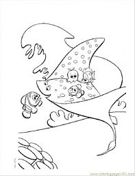 stingray coloring coloring pages finding nemo