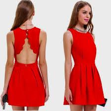 casual red sundress naf dresses