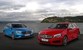 mercedes a class vs b class mercedes a class b class petrol engines already meet 6