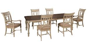 kincaid weatherford kincaid weatherford 7 piece dining set