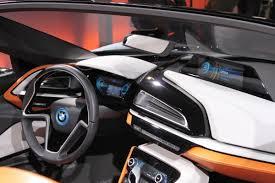 I8 Bmw Interior Bmw I8 Spyder Concept Up Close With An Eco Friendly Supercar Bmw I8