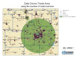 Central Ohio Zip Code Map by Trade Area Analysis U2013 Downtown Market Analysis