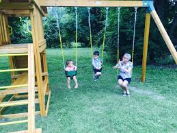 Swing Set For Backyard by Swings For Your Backyard Swing Set Eastern Jungle Gym