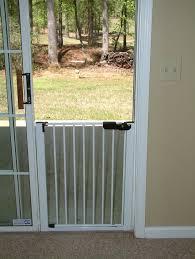 Patio Door Gate Cardinal Gates Lock N Block Sliding Door Gate Reviews Wayfair