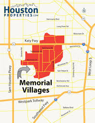 Houston Map Zip Codes by Memorial Villages Houston Real Estate Neighborhood Guide