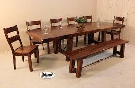 amish table and chairs amish adirondack real wood dining sets new york
