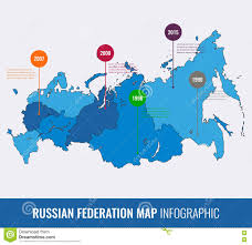 Russian Map Russia Map Infographic Template All Regions Are Selectable