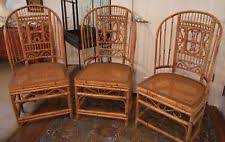 Vintage Bamboo Chairs Bamboo Antique Chairs Ebay