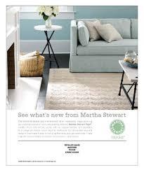 home decor ads 06042008 safavieh supports martha stewart rug dealers article