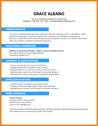 resume for college graduates college graduate sample resume college resume format 6 example of