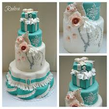 tiffany inspired bridal shower cake cakecentral com