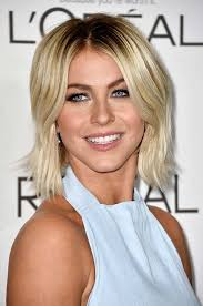 short mid hair pushed behind ears 50 stylish ways to wear center part hairstyles fashionisers
