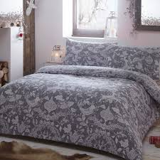 Grey Double Duvet Set Buy The Spirit Of Christmas Single Grey Free Delivery Over