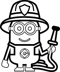 fireman coloring page activity fireman coloring pages work