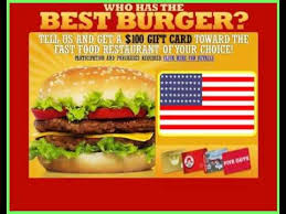 fast food gift cards win a 100 gift card to your favorite fast food chain