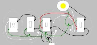 wiring diagrams three wire switch 3 way dimmer switch wiring