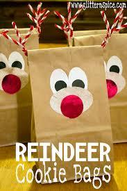 reindeer cookies recipe and free printable glitter u0027n spice