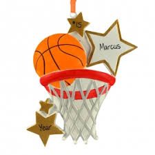 basketball ornaments gifts for you